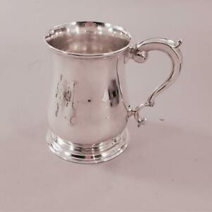 Georgian Sterling Mug London 1739 Lucas