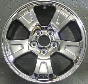 Factory Oem Honda Pilot Ridgeline 17 Chrome Wheel Rim 63911 Pvd Bright Chrome