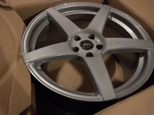 Price Reduced Forgestar Cf5 Monoblock Silver Wheel 19x10 Mustang 05 14 All