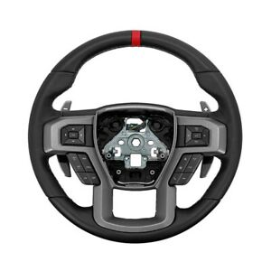 Ford Performance Raptor Steering Wheel Kit For 2015 2018 F 150 W Red Sight Line