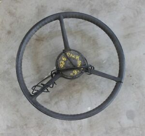 1936 Packard Steering Wheel Horn Cap Rare H