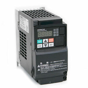 Hitachi Wj200 007lf variable Frequency Drive 1 Hp 230 Vac Three Phase Input