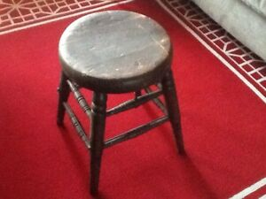 Antique Piano Milking Stool Note Pick Up Only