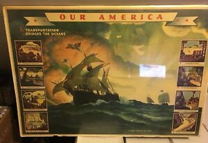 Coca-Cola Our America A New World In View Teachers Aid 32 x 22
