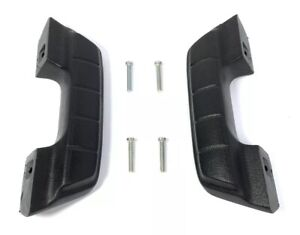 Pair Black Arm Rest For 1964 66 Chevy Gmc Pickup Truck