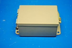 Hoffman A604lp 6 X 4 X 3 Jic Metal Junction Box Lift off Gasketed Cover New