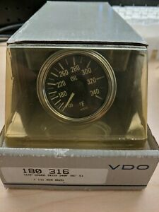 Vdo Water Temp Gauge Kit 180 316