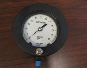 Pressure Gauge 0 To 60 Psi 4 5 In Ashcroft 60psi