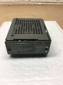 Lambda Lnd z 152 12 15 Dual Output Regulated Dc Power Supply 12 15vdc