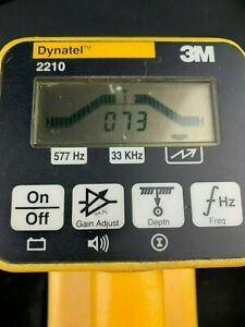 3m Dynatel 2210 Locator Cable Pipe Fault Locator