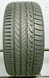 One Used 255 35r18 2553518 Dunlop Signature Hp 9 32 A147