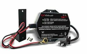 Automotive Battery Charger Maintainer For Car 12 Volt 6 Compact Vehicle Mower A