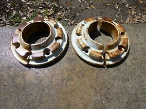 Ford Tractor Wheel Weights Two Piece 64 Pounds Per Wheel Set Of 4