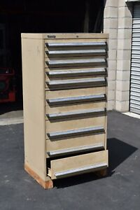 Kennedy 10 Drawer Parts Cabinet