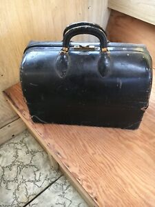 Outstanding Vintage Schell Emdee Medical Doctor Bag