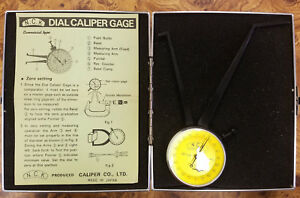 Nck Dial Caliper Gage 3 5 8 4 5 8 Range 0 001 Reading 5a c0011