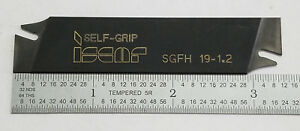 Iscar Self Grip Grooving Parting Tool Holder Sgfh 19 1 2 11a e0095