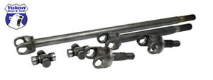 Yukon Gear Front 4340 Chrome moly Axle Kit For 79 87 Gm 8 5in 1 2 Ton Truck And