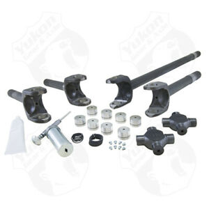 Yukon Gear Front 4340 Chrome moly Replacement Axle Kit For 77 91 Gm Dana 60 W