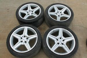 Oem Mercedes W219 Cls550 08 11 Amg 5 Spoke 18 X 8 5 9 5 Wheels Rims Tires
