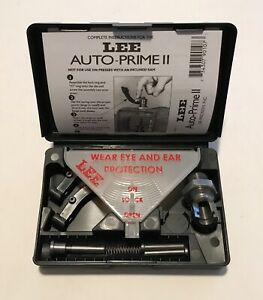 LEE PRECISION AUTO PRIME II 2 ll COMPLETE PRESS PRIMING SYSTEM KIT #90107 (NICE)