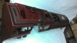 1988 1994 Chevy Gmc Pickup Truck Blazer Suburban Dash Core Frame Assembly Red