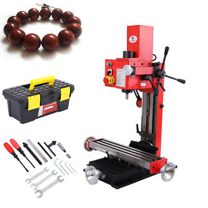Mini Milling Drilling Machine Gear Drive Precision 90 Vertical Variable Speed
