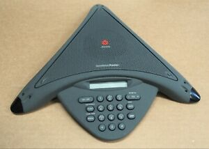 Polycom Soundstation Premier Conference Phone 2201 05200 001 With Wall Module
