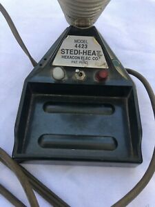 Hexacon Model 4422 Stedi heat Soldering Iron Station Vintage