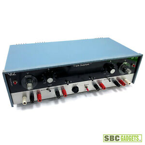 Vintage Triple Dc Power Supply Supplyst Wp 708 Ships Same Day
