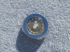 1957 Mercury Horn Ring Power Steering Center Cap