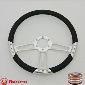 14 Satin Billet Steering Wheels Ford Gm Corvair Impala Chevy Ii