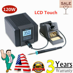 Quick Ts1200a 120w Lcd Touch Display Soldering Station For Phone Bga Desoldering