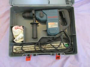 Bosch Bochhammer Drill 11236v5 In Orig Carring Case With 2 Concrete Drills