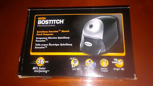Stanley Bostitch Professional Quiet Sharp Executive Electric Pencil Sharpener