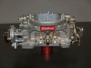 Edelbrock Afb 4 Barrel Carburetor 600 Cfm Carb 1406 Core For Rebuilding W Choke