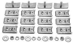 1949 1950 1951 1952 Chevrolet Styleline Rocker Panel Molding Clip Kit 150 210