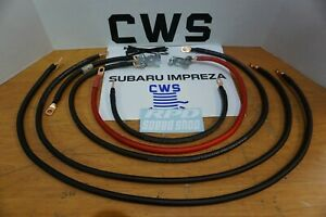 2000 07 Subaru Impreza Outback Forestor Battery Cable Ground Wiring Kit Ej25 Non