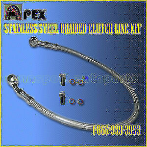 Stainless Steel Clutch Line Hose Toyota Corolla Sr5 Gts Ae86 84 85 86 87