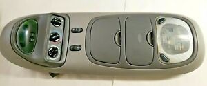 97 02 Ford Excursion Expedition Lincoln Navigator Overhead Console Compass Ac