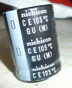 Nichicon 50v 8200uf Aluminum Electrolytic Capacitors Snap In 40mm X 30mm