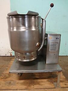 Groen 20qt Natural Gas Heavy Duty Commercial Steam Jacketed Kettle On Stand