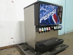 servend Counter top H d Commercial Lighted 10 Heads Soda W ice Dispenser
