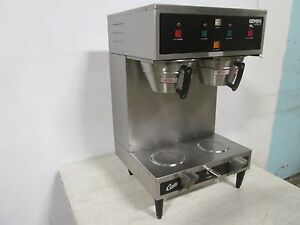 Curtis Gem12 Heavy Duty Commercial Dual Coffee Brewer W hot Water Spigot