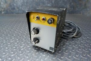 Bodine Electric Dc Motor Speed Controller Ash 500 115v 4 8a