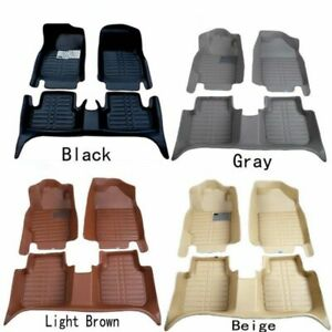 For Toyota Camry Highlander Rav4 Corolla Car Floor Mats Floorliner Carpet Pads