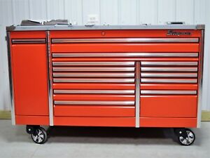 Snap On Kerp763b5pb Red 76 Epiq Tool Box Toolbox Stainless Steel Top New