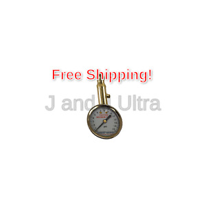 Accu Gage S15xa 3 15 Psi Swivel Angle Chuck Dial Tire Pressure Gauge With B