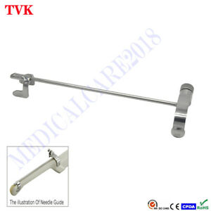 Stainless Steel Biopsy Needle Guide For Hitachi Eup v53w Ultrasound Transducer