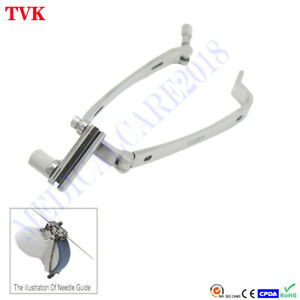 Stainless Steel Biopsy Needle Guide For Hitachi Eup c251 Ultrasound Probe